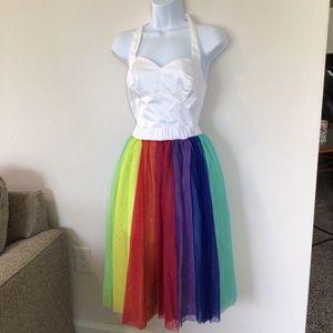 Disney Parks Inside Out Romper Famous Dress